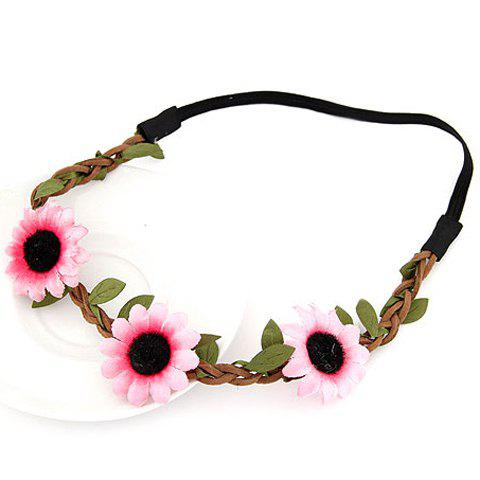 Chic Cute Sun Flower Hairband For Women - COLOR ASSORTED  Mobile