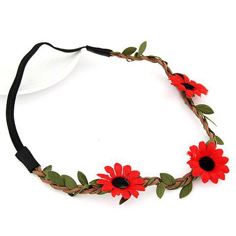 Shop Cute Sun Flower Hairband For Women - COLOR ASSORTED  Mobile