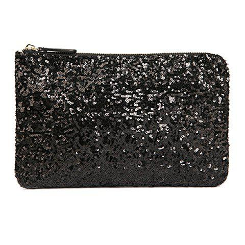 Cheap New Fashion Style Women's Sparkle Spangle Clutch Evening Bag