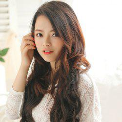 Fashionable Fluffy Long Wavy High Temperature Fiber Women's Hair Extension