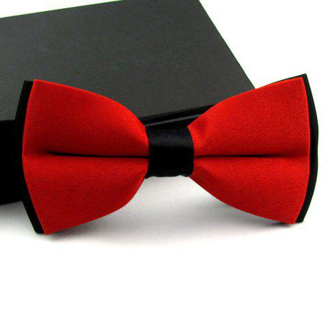 Casual Color Blocked Bow Tie For MenACCESSORIES<br><br>Color: COLOR ASSORTED; Type: Bow Tie; Group: Adult; Style: Fashion; Pattern Type: Others; Weight: 0.110KG; Package Contents: 1 x Bow Tie;