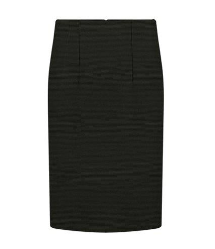 Store Simple Style Solid Color Packet Buttock Slimming Women's Skirt