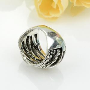 Retro Style Multilayered Ring -