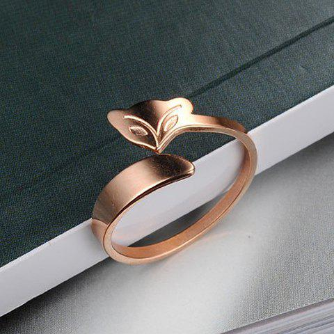 Sweet Fox Solid Color Ring For Women от Rosegal.com INT