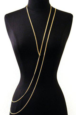 Buy Stylish Special Design Layered Y-Shaped Women's Body Chain