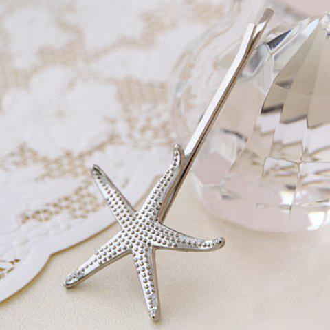 Shops Sweet Women's Solid Color Starfish Hairpin