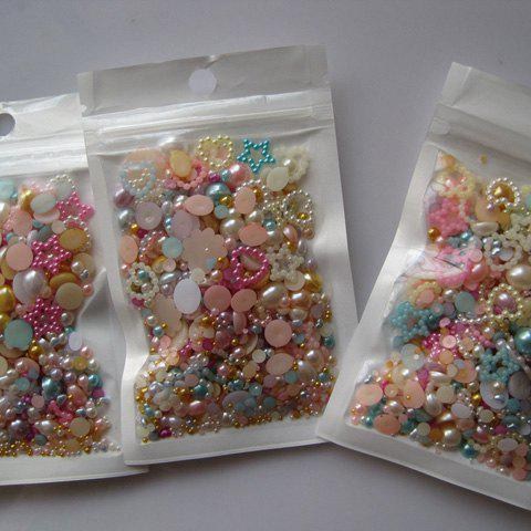 20g Stunning Various Shapes Faux Pearl Nail Art Decorations For Women от Rosegal.com INT