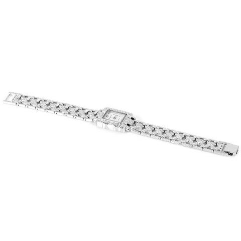 Chaoyada Beautiful Quartz Chain Watch with Rectangle Dial Steel Watch Band for Women от Rosegal.com INT