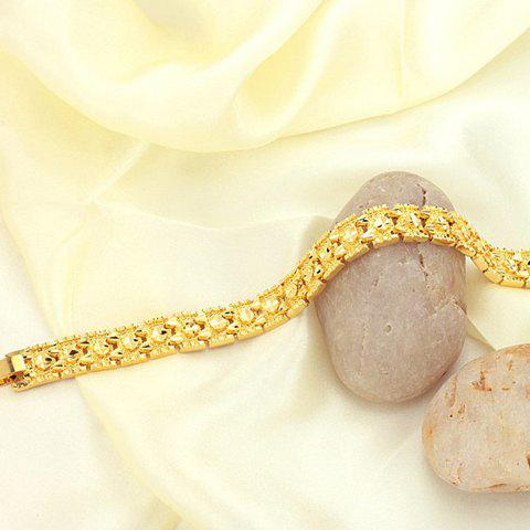 Outfit Gold Plated Bracelet - AS THE PICTURE  Mobile