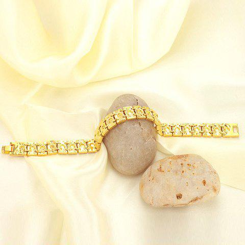 Cheap Gold Plated Bracelet - AS THE PICTURE  Mobile