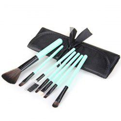 7Pcs Professional Makeup Brushes Foundation Brush Set with Cloth Bag -