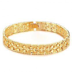 Fashion Gold Circle Bracelet For Men