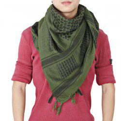 Unisex Winter and Fall Warm Arabian Shawl Stole Scarf Muffler with Fringed Decoration -