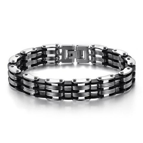 Image For Layered Cycle Chain Bracelet