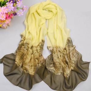 Elegant Gradient Color Scarf For Women -