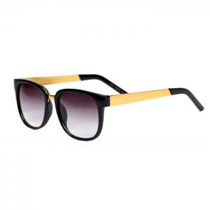 Anti UV 400 Sunglasses Unisex Plain Glasses Full-rim Eyewear Retro Sunglasses