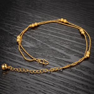 Chic Women's Beads Link Fancy Anklets -
