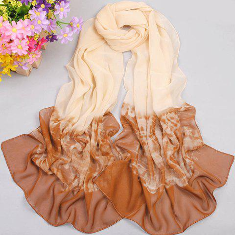 Affordable Elegant Gradient Color Scarf For Women