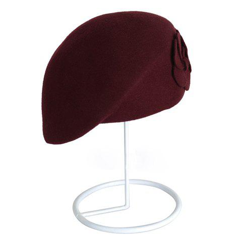 Vintage Two Flowers Design Pure Color Beret Hat For Women от Rosegal.com INT
