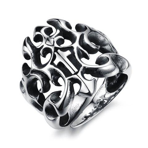 Chic Stylish Solid Color Openwork Ring For Men