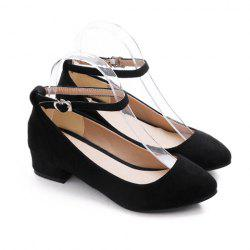 Suede and Pointed Toe Designs Flat Shoes -