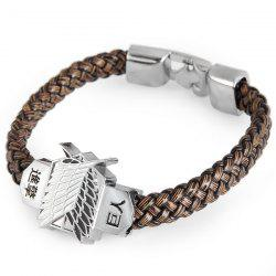 Attack on Titan Leather Bracelet