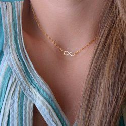 Fashion Women's Bowknot Pendant Necklace -