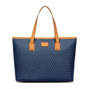 Fashion PU Leather and Anchor Design Women's Shoulder Bag -