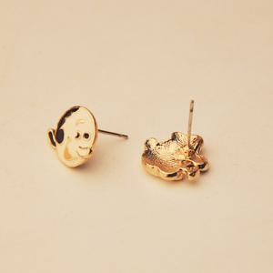 Character Portrait Shape Earrings -
