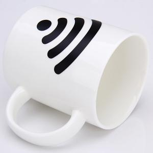 Magical Color Changing Temperature Control Mug WiFi Signal Pattern Coffee Cup -