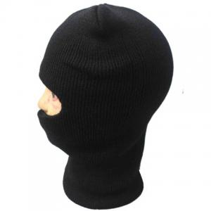 Balaclava Mask Windproof Solid Color Outdoor Sports Knitted Hat For Men and Women - COLOR ASSORTED ONE SIZE(FIT SIZE XS TO M)
