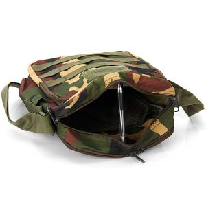 High Quality Water Bottle Single Shoulder Bag Cross Body Sundries Pack Practical Travel Camping Cycling Hiking Accessories - JUNGLE CAMOUFLAGE