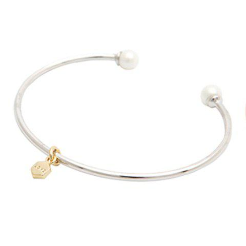 Outfit Simple Women's Faux Pearl Embellished Bracelet