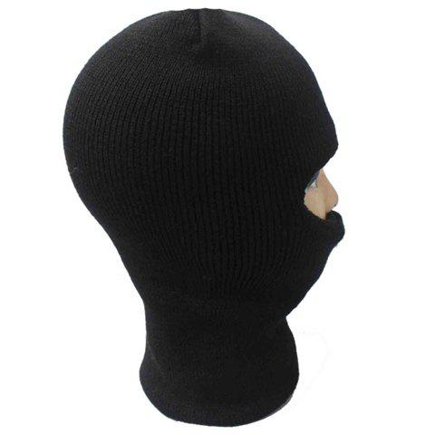 New Balaclava Mask Windproof Solid Color Outdoor Sports Knitted Hat For Men and Women - ONE SIZE(FIT SIZE XS TO M) COLOR ASSORTED Mobile