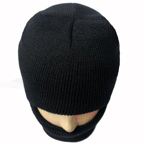 Fashion Balaclava Mask Windproof Solid Color Outdoor Sports Knitted Hat For Men and Women - ONE SIZE(FIT SIZE XS TO M) COLOR ASSORTED Mobile