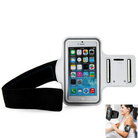 Fashion Dual Holes Sports Soft Tactility Durable Armband Holder Pouch Protective Case for iPhone 6 6S