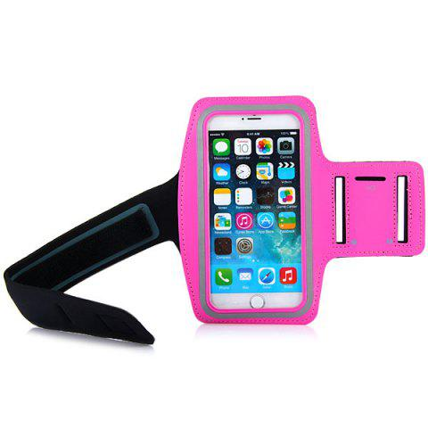 Latest Dual Holes Sports Soft Tactility Durable Armband Holder Pouch Lycra Protective Case for iPhone 6 Plus - 5.5 inches