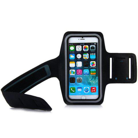 Fancy Dual Holes Sports Soft Tactility Durable Armband Holder Pouch Lycra Protective Case for iPhone 6 Plus - 5.5 inches