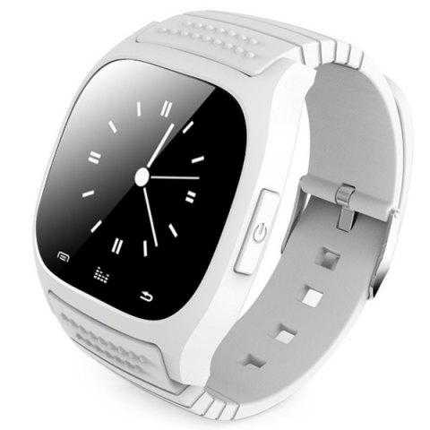 Buy RWATCH M26 Bluetooth Watch LED Light Display with Dial / Call Answer / SMS Reminding / Music Player / Anti-lost / Passometer / Thermometer for Samsung / HTC