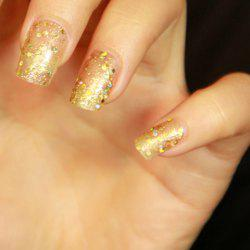 24 PCS Chic Sequin Decorated Nail Art False Nails -