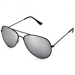 Fashionable UV400 Metal Frame PC Sunglasses Eyewear Retro Eyes Protector Outdoor Activities Leisure Necessaries - SILVER