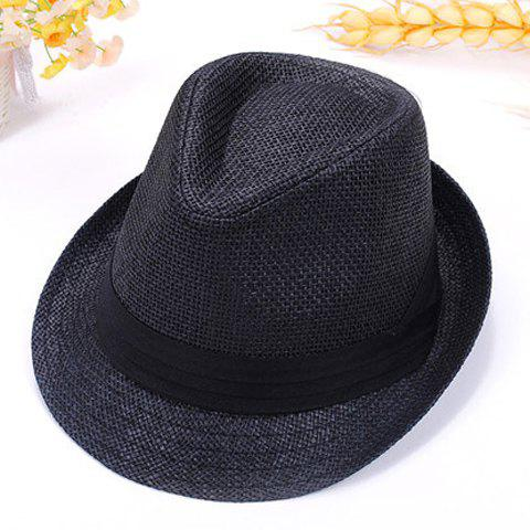 Store Chic Style Straw Fedora Hat For Lovers