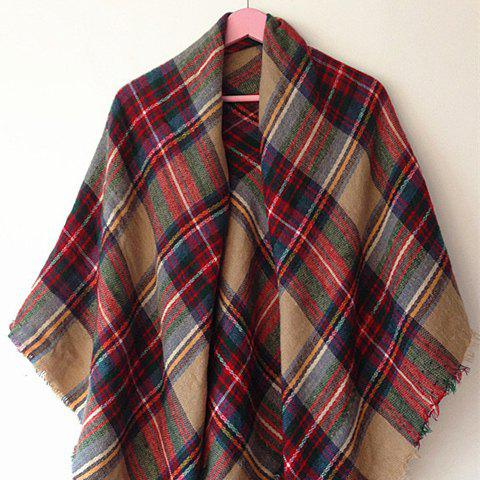 Latest Classical Tartan Design Scarf For Women