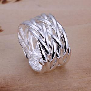 Alloy Braided Ring -  US SIZE 8