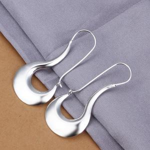 Pair of Hollow Out Alloy Earrings