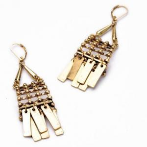 Pair of Ethnic Style Women's Solid Color Earrings -
