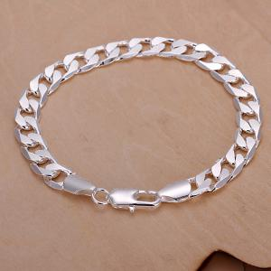 Unique Style Flat Chain Bracelet For Men -