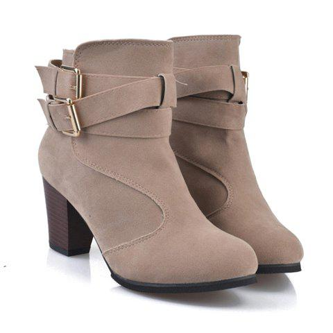 Shops Side Zip Ankle Boots