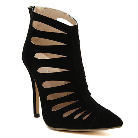 Store Elegant Stiletto Heel and Hollow Out Design Women's Pumps