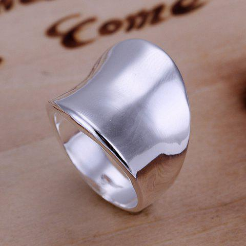 Chic Stylish Thumb Shape Copper Ring  US SIZE 8